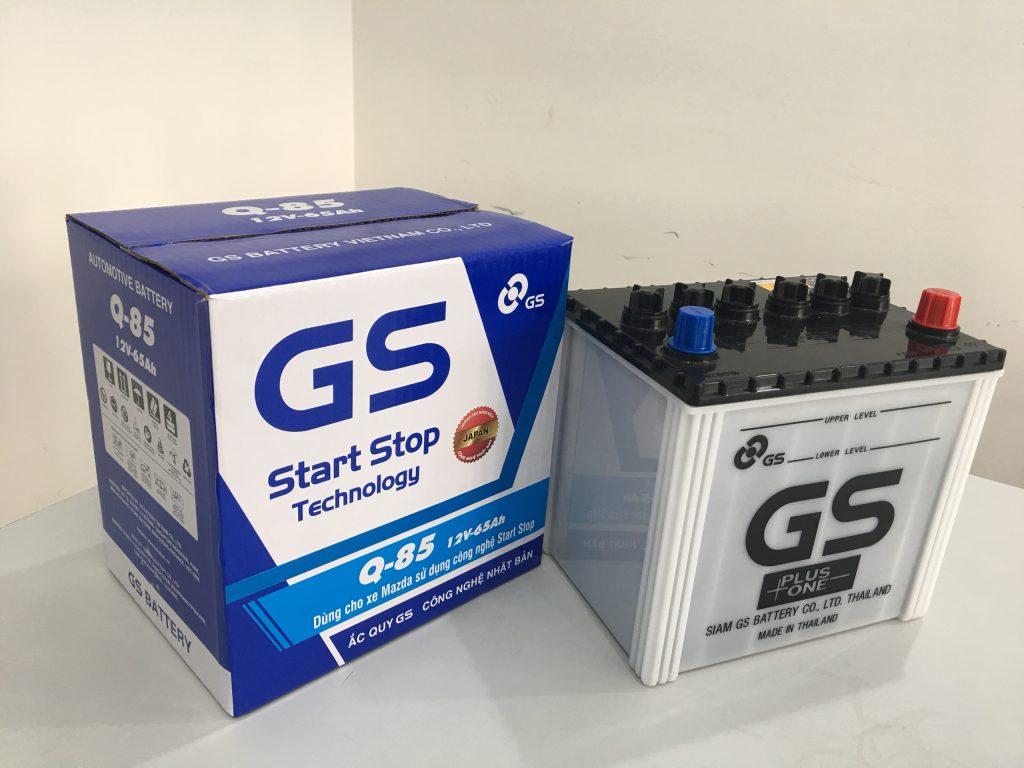 Ắc quy GS Q85 65Ah