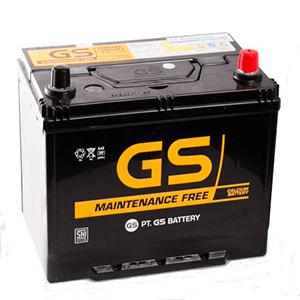 Ắc quy GS 65Ah MF75D23R