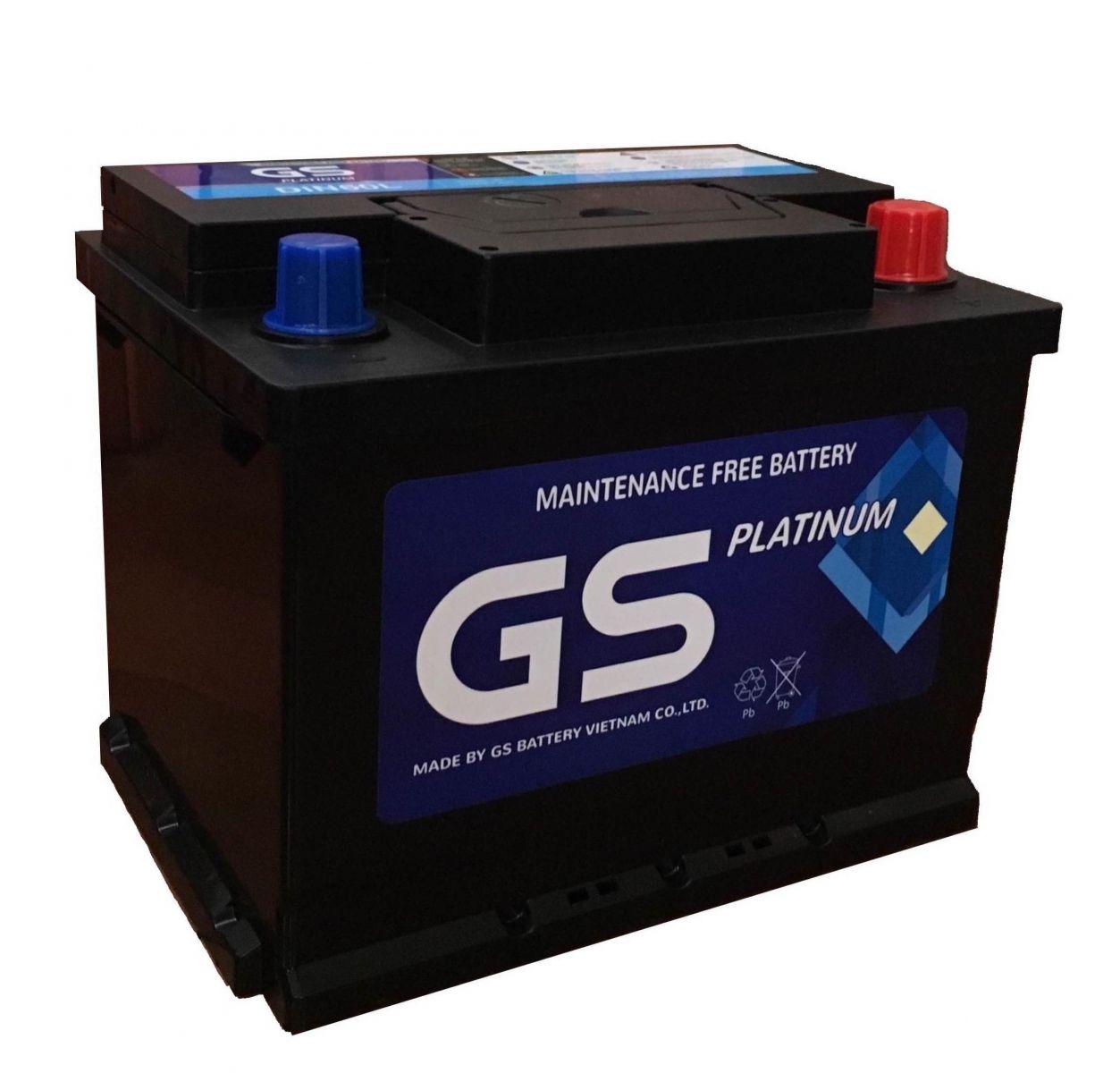 Ắc quy GS 65Ah (L) Platinum