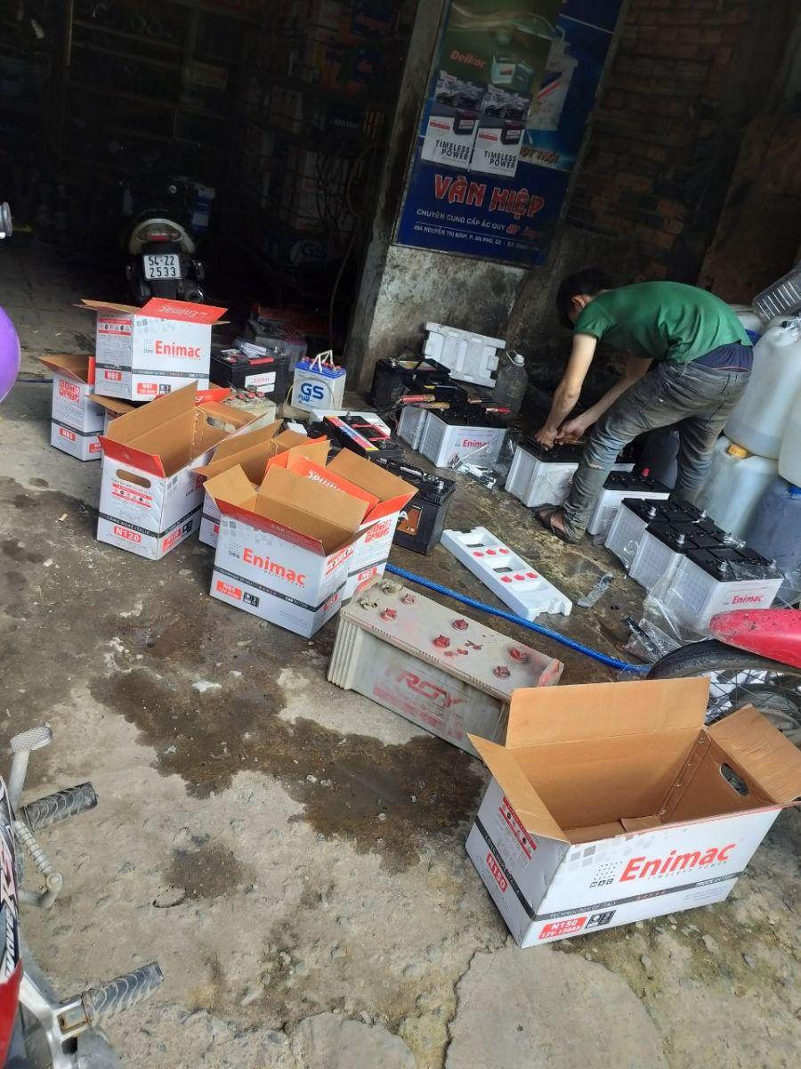 Đại lý ắc quy tại quận Gò Vấp