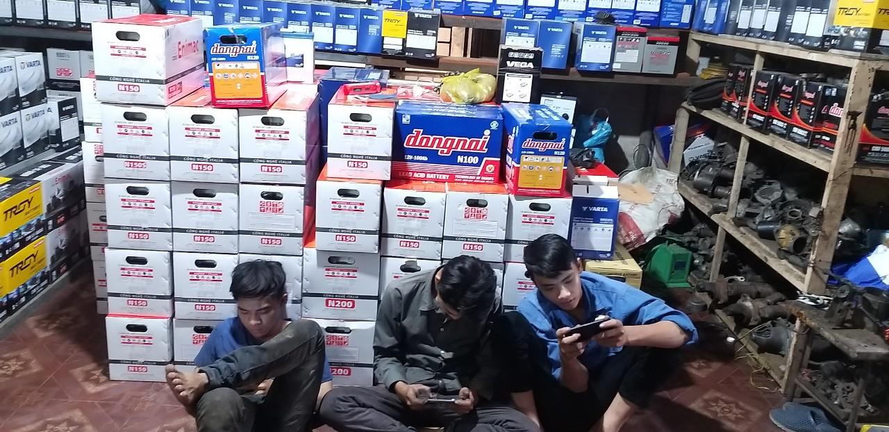 Đại lý ắc quy tại quận Tân Bình